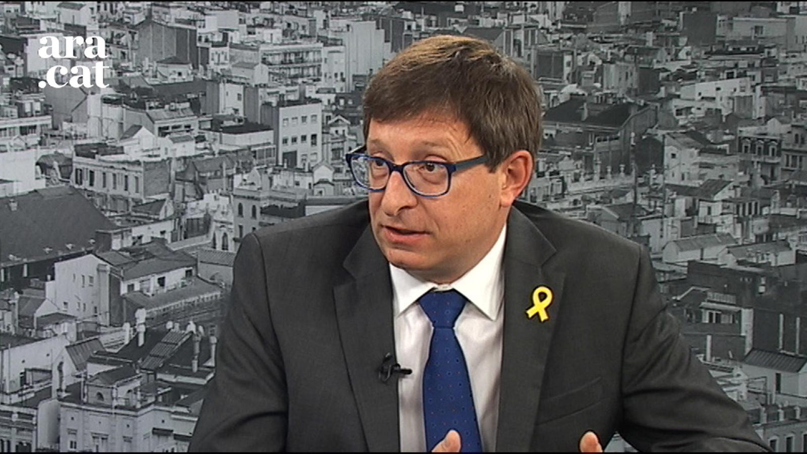 """Carles Mundó: """"ERC investirà Junqueras encara que segueixi en presó provisional"""""""