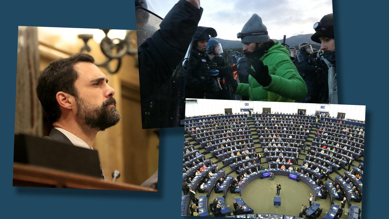 L'anàlisi d'Antoni Bassas: 'La Jonquera, Behobia, Estrasburg i el Parlament: 4 fronts en un dia'