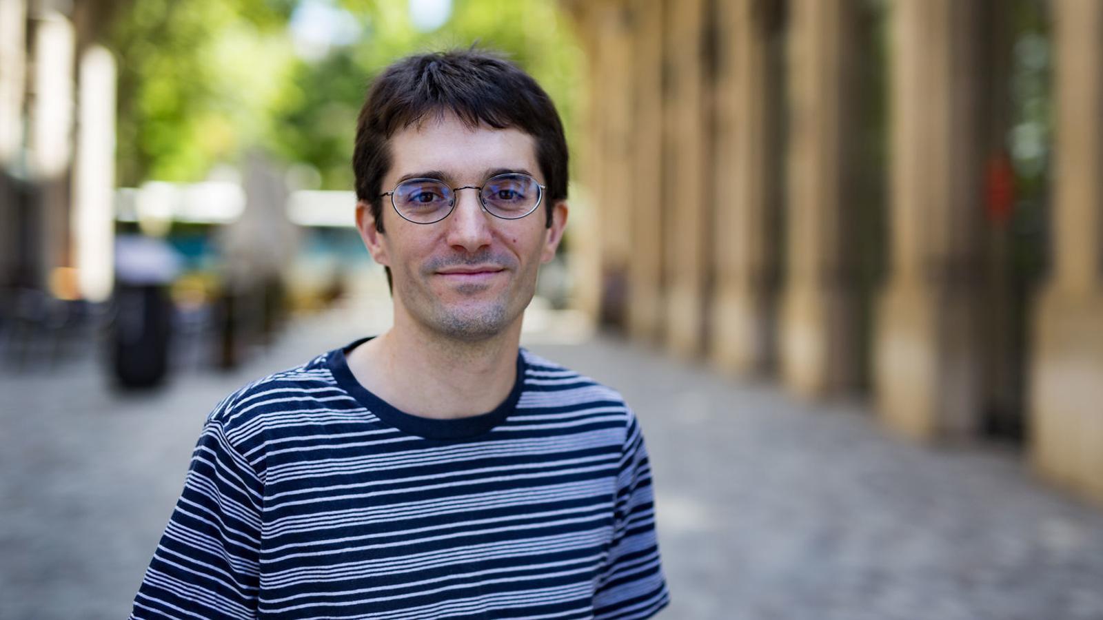 Raül Garrigasait, l'autor de la novel·la 'Els estranys'