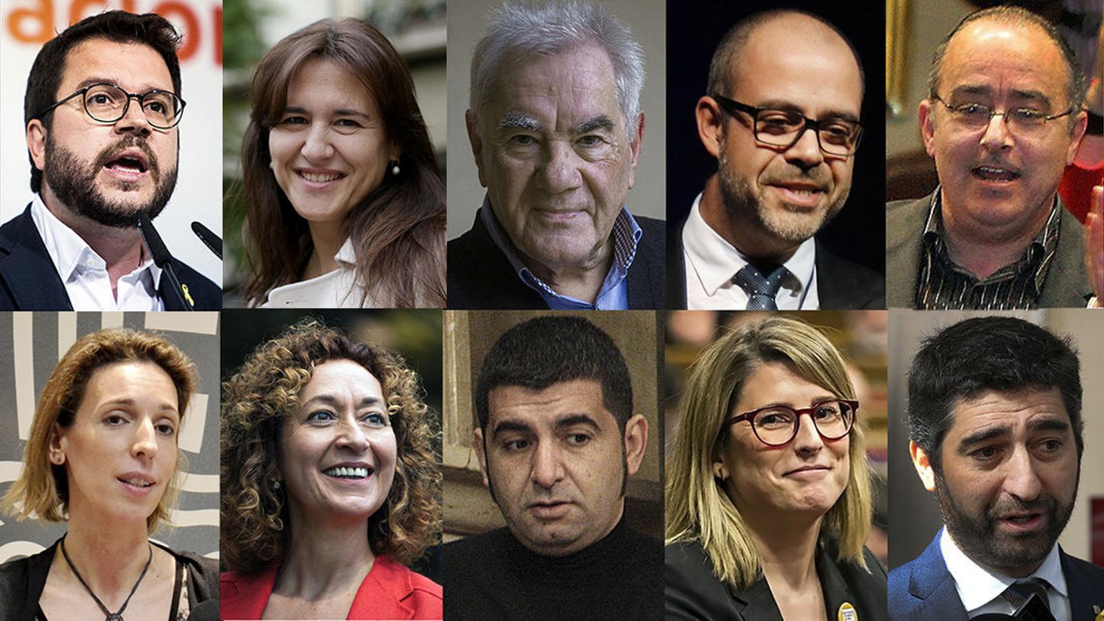 Aquests són els 13 consellers del Govern de Quim Torra