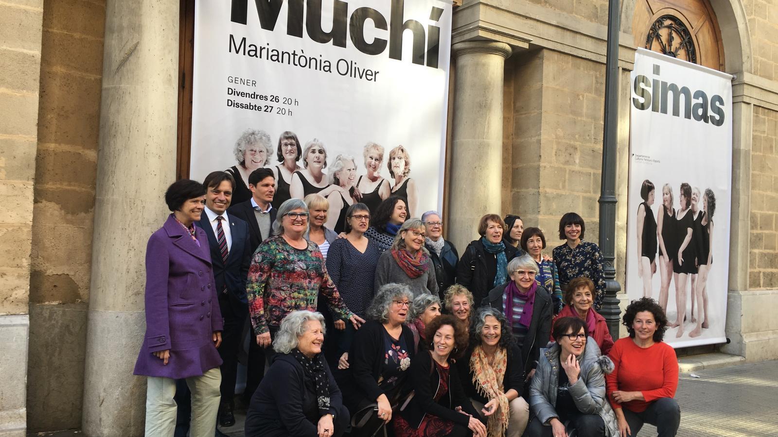 Presentació de 'Las Muchísimas' al teatre Principal de Palma.