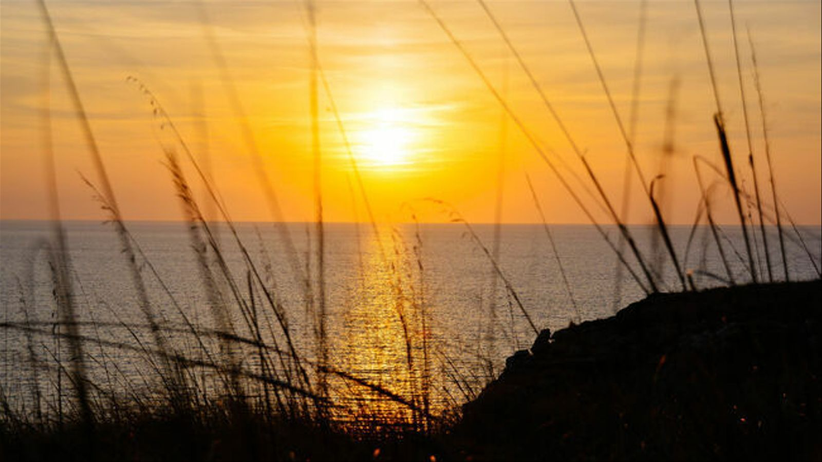 Una posta de sol al cap de Cavalleria