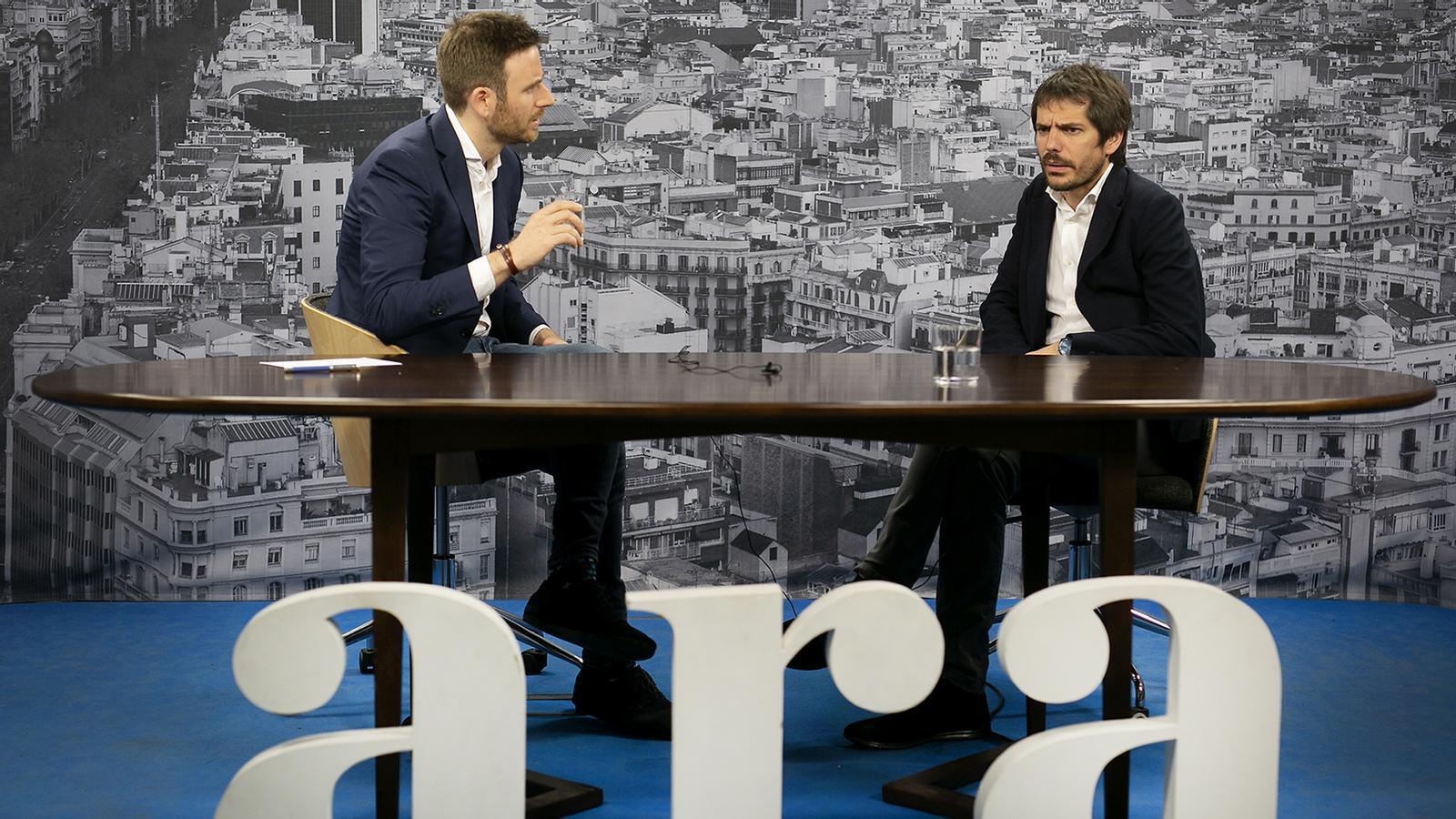 Entrevista de Maiol Roger a Ernest Urtasun