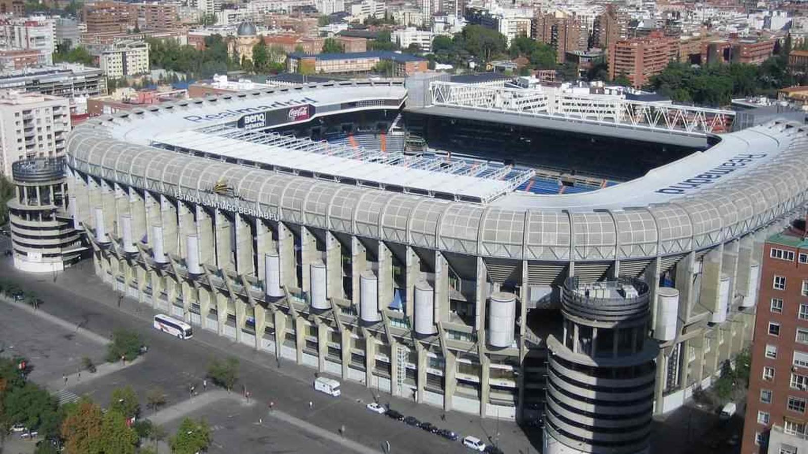 Estadi Santiago Bernabéu.