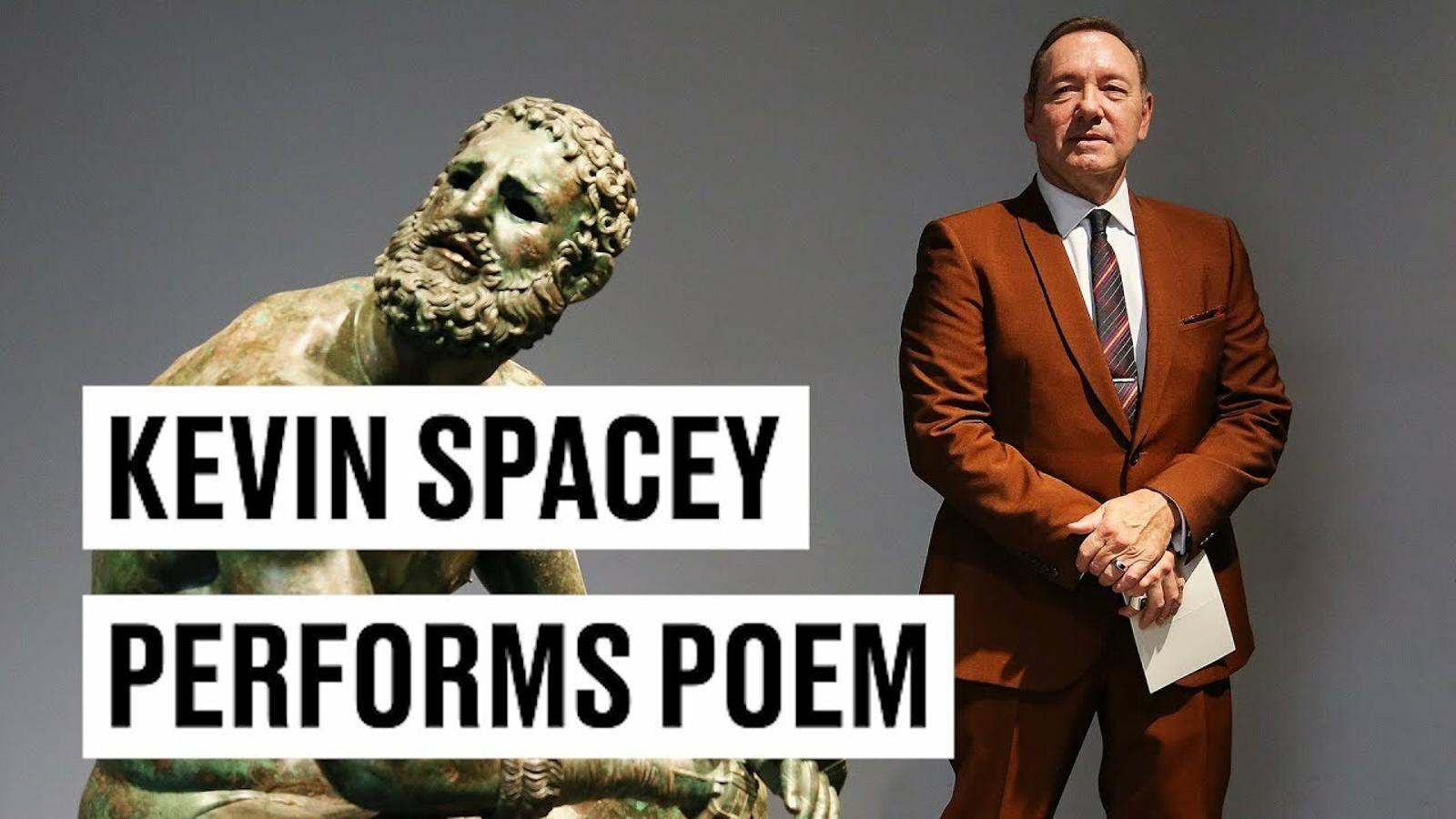 El poema de Kevin Spacey