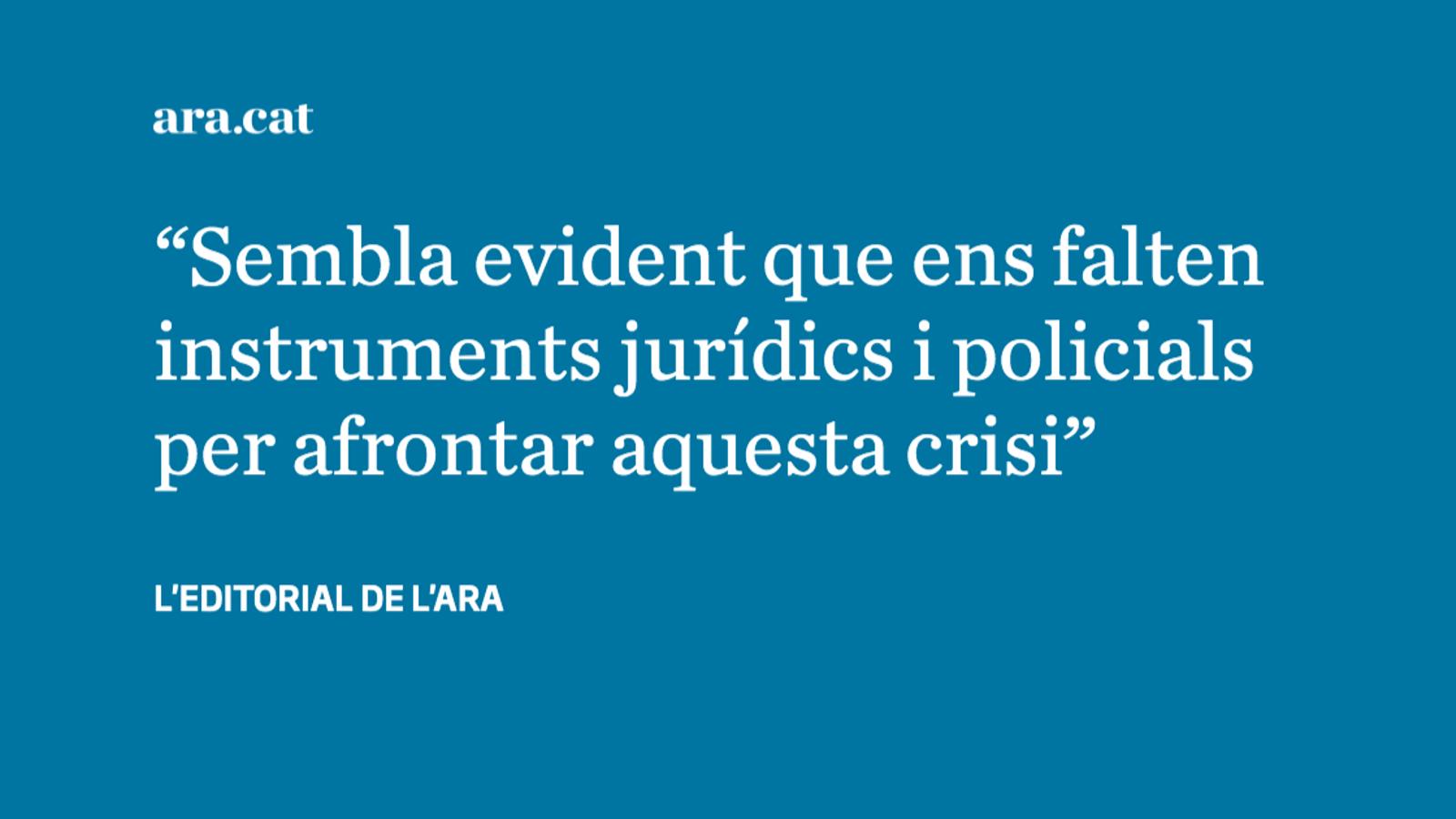 Calen més eines judicials i policials contra els robatoris amb violència