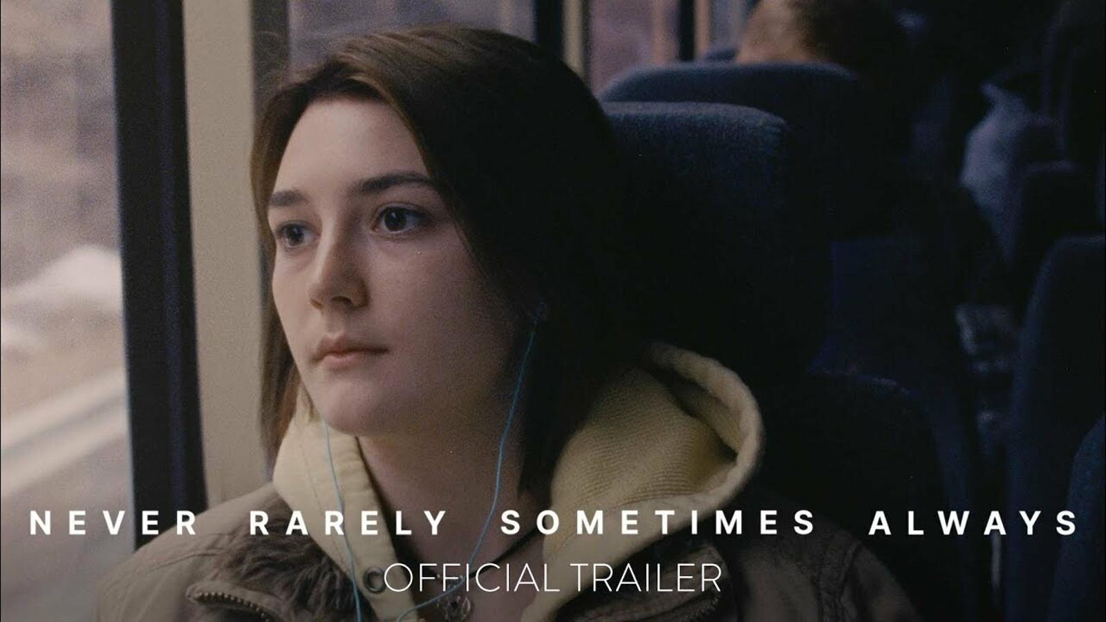 Tràiler de 'Never rarely sometimes always'