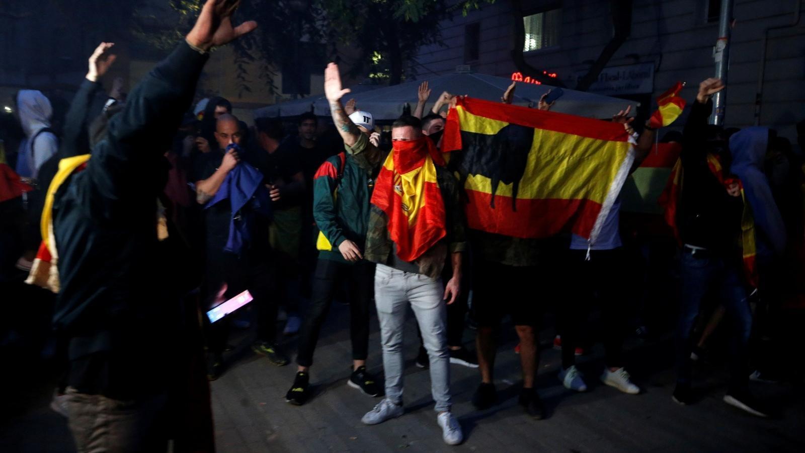 """Marlaska afirma que es van prendre """"les mesures necessàries"""" per a evitar enfrontaments entre ultres i antifeixistes"""