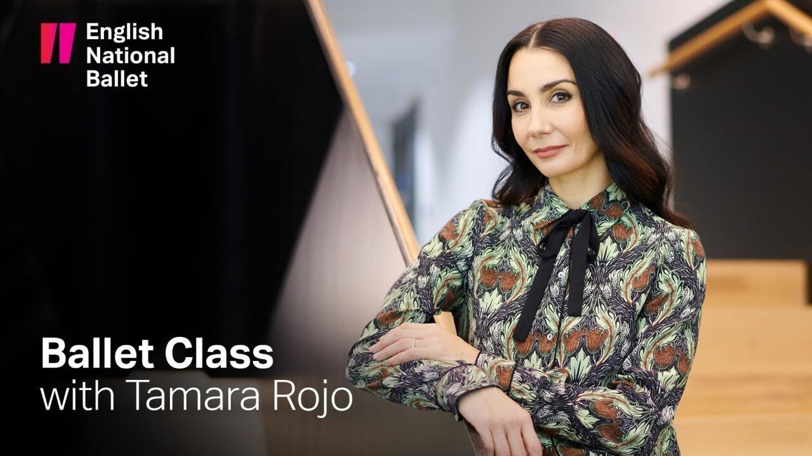 Una de les classes de ballet online de Tamara Rojo