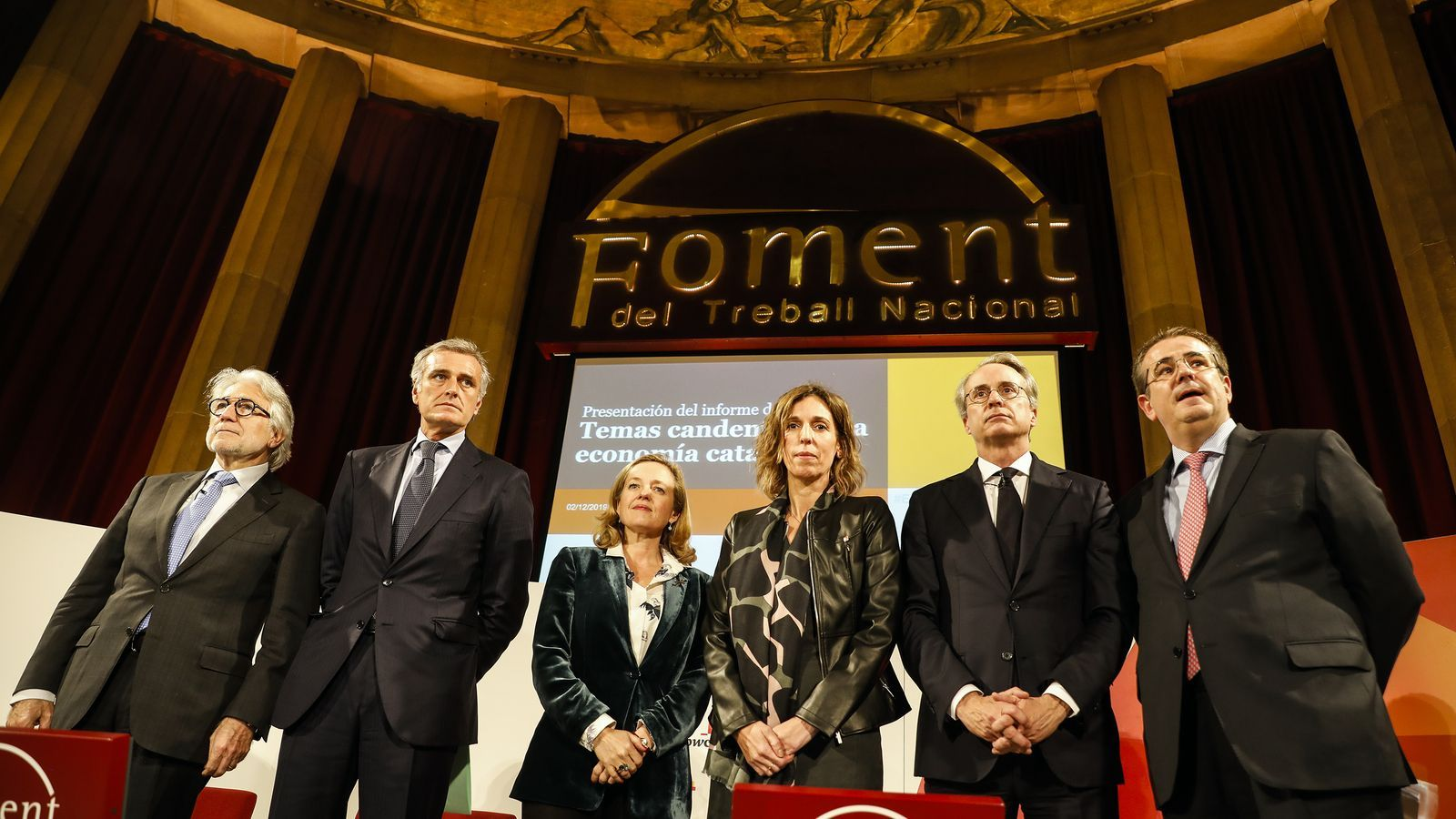"""Foment retreu a Calviño el balanç """"desolador"""" de la inversió a Catalunya"""