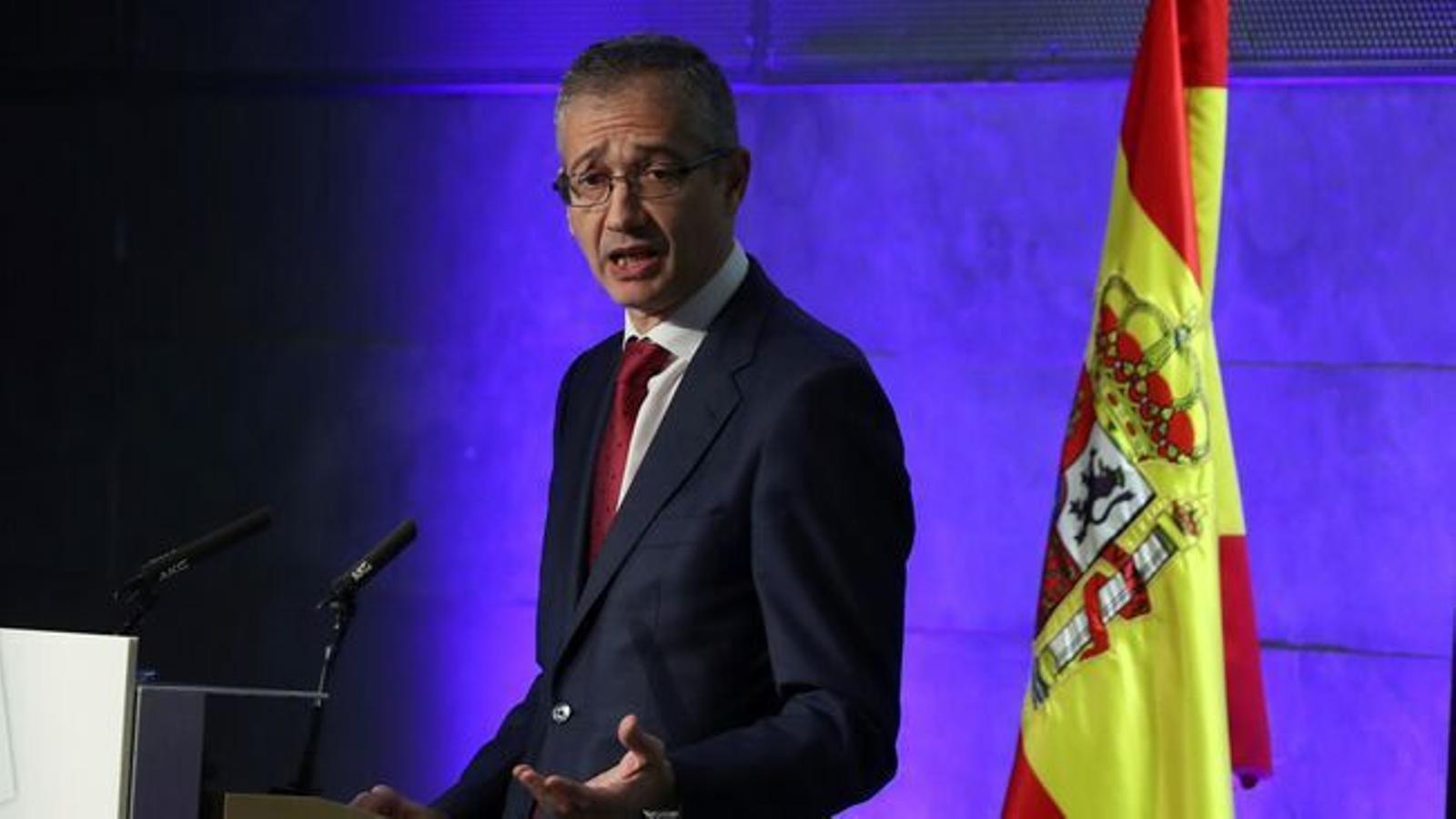 El governador del Banc d'Espanya, Pablo Hernández de Cos, el passat més d'octubre