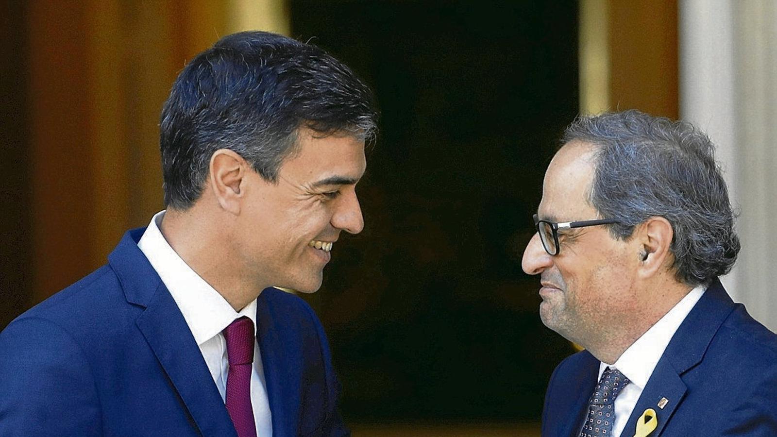 La Generalitat i la Moncloa acorden una trobada dijous a les sis al Palau de Pedralbes