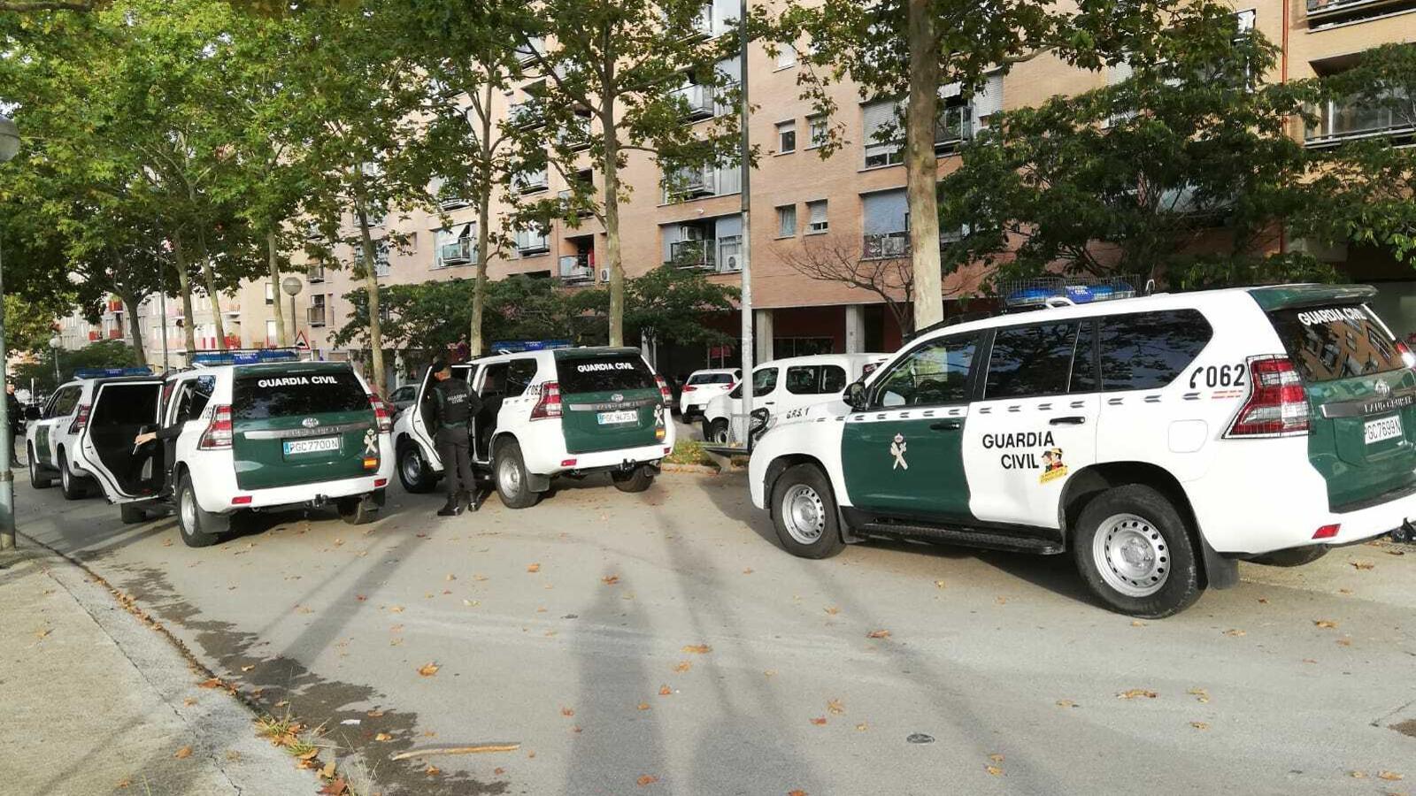 Operatiu de la Guàrdia Civil a Catalunya contra moviments independentistes