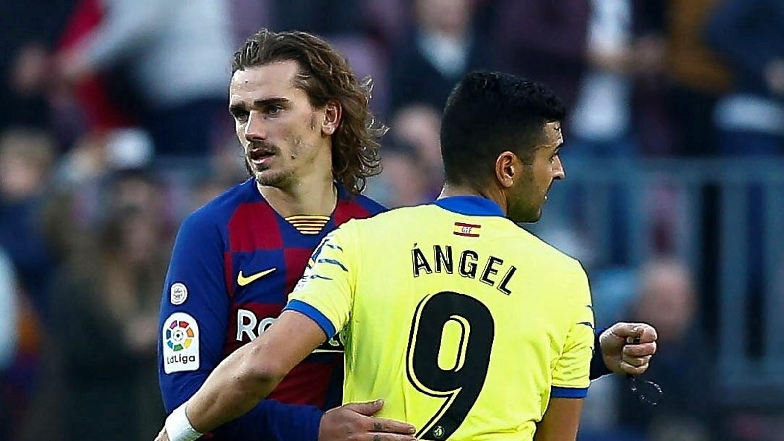 Griezmann torna a veure porteria mentre Ángel es presenta al Camp Nou