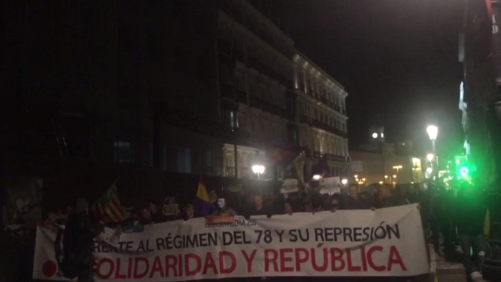 Manifestació en defensa dels presos polítics a Madrid: Els carrers seran sempre nostres
