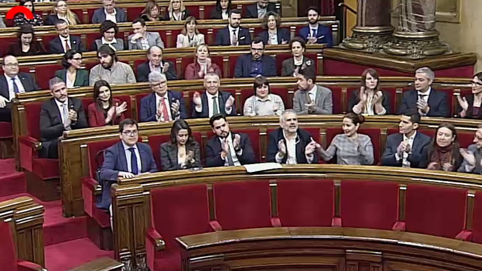 Sis moments de Ciutadans al Parlament