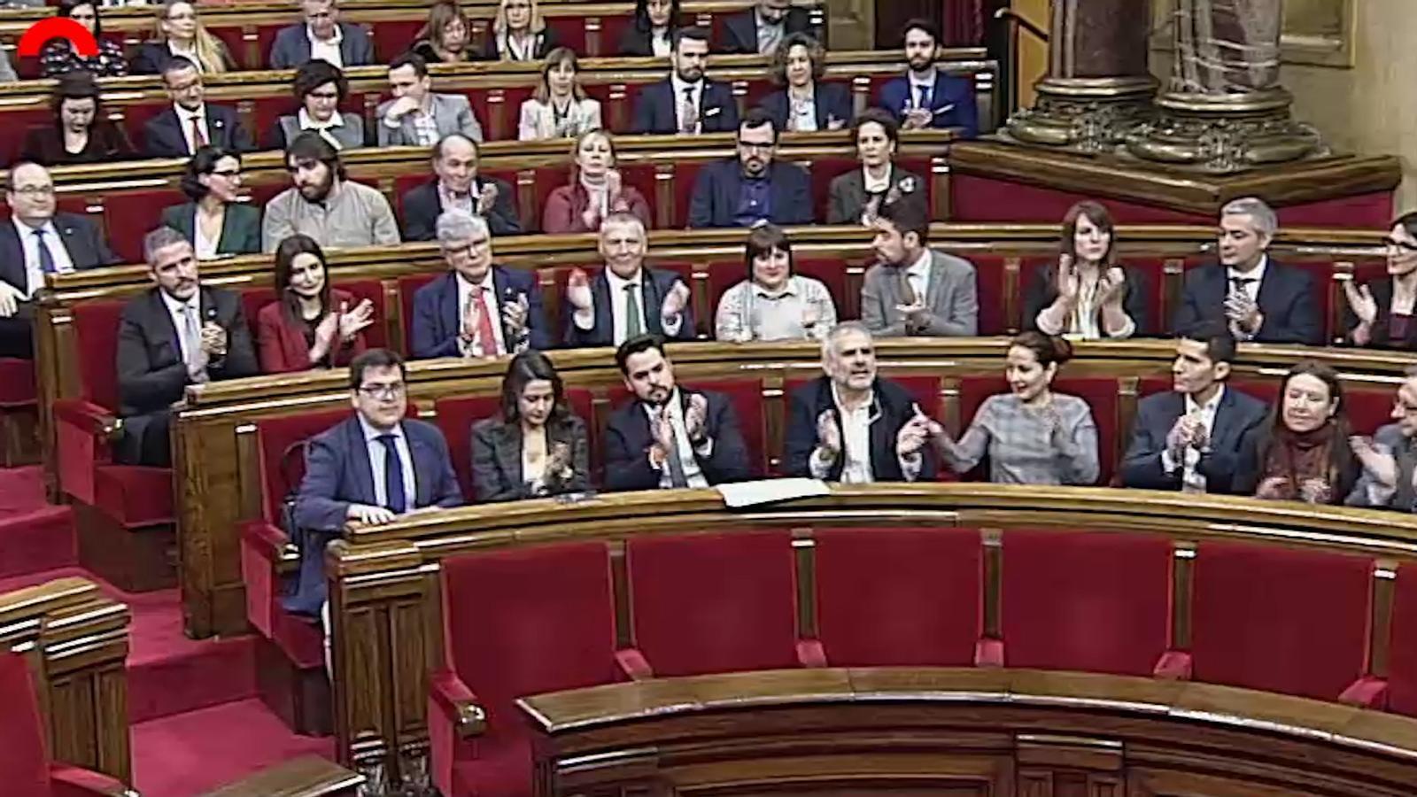Sis moments de Ciutadans al Parlament