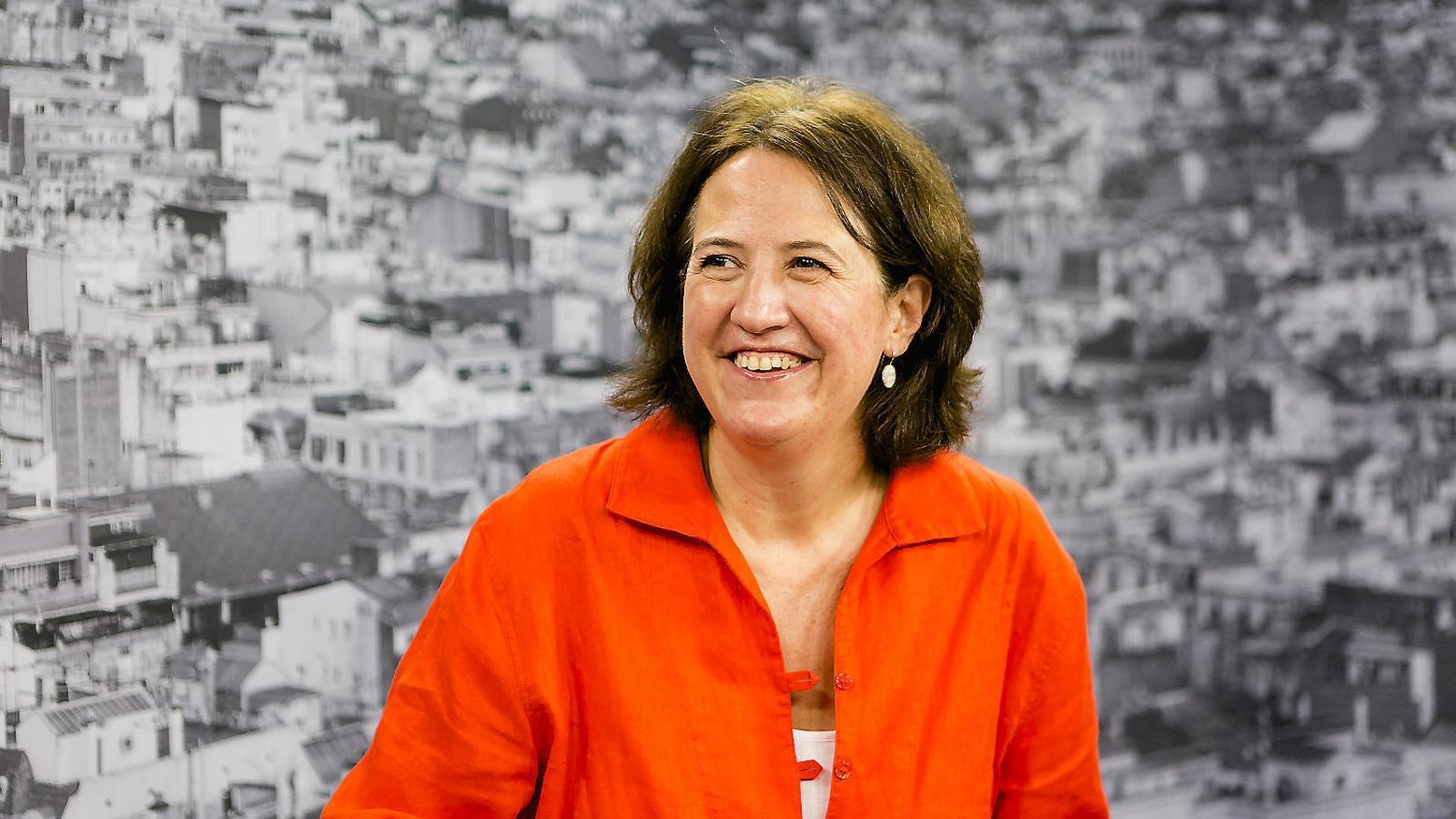 """Elisenda Paluzie: """"Ara el gran risc és que l'independentisme es quedi a casa a les pròximes eleccions"""""""