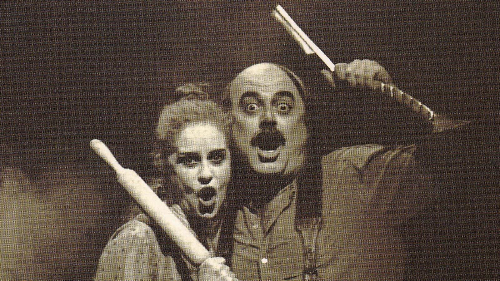 Constantino Romero i Vicky Peña el 1995 a 'Sweeney Todd'