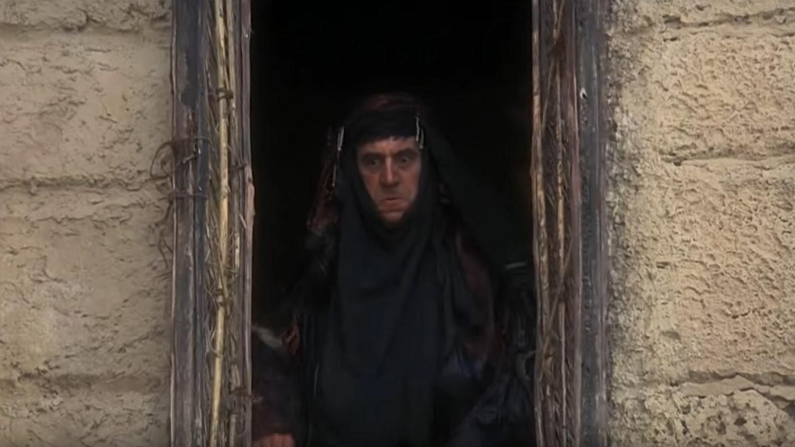 Terry Jones en una escena de 'La vida de Brian'