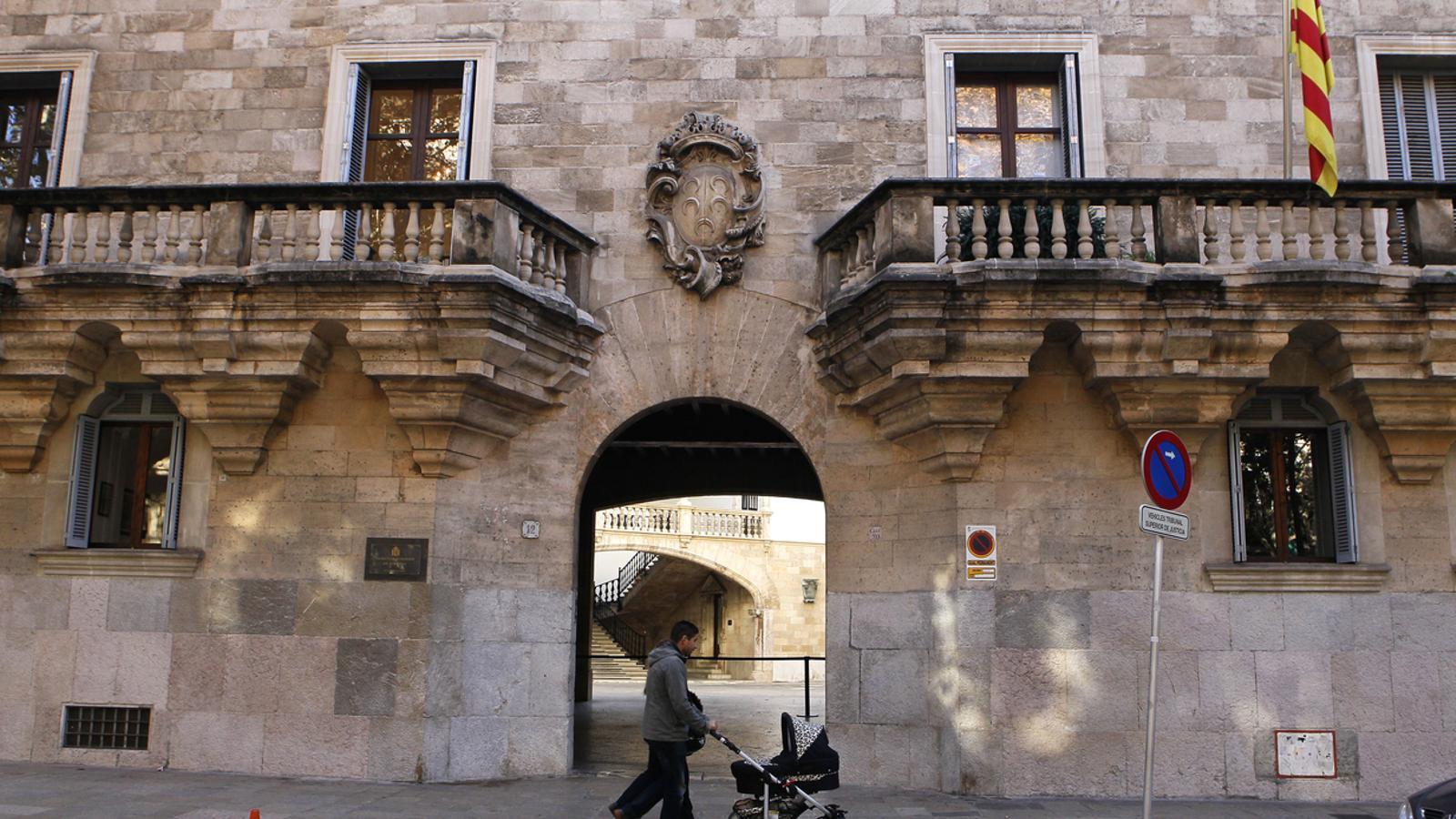 L'Audiència provincial de Palma. / ARA BALEARS