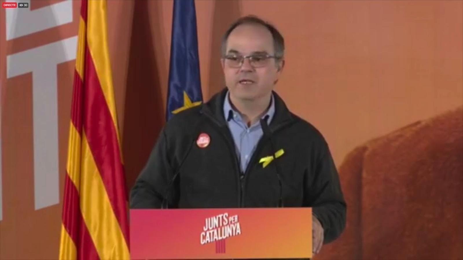 """Turull: """"Quina és la normalitat que defensa el senyor Rajoy?"""""""