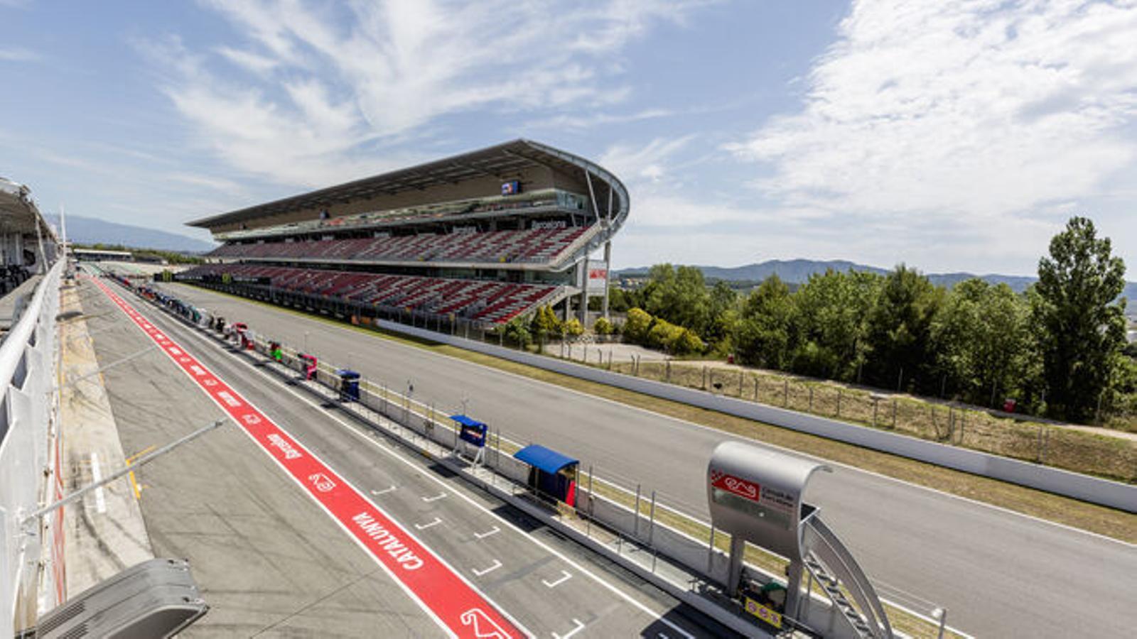 Imatge d'arxiu del Circuit de Catalunya.