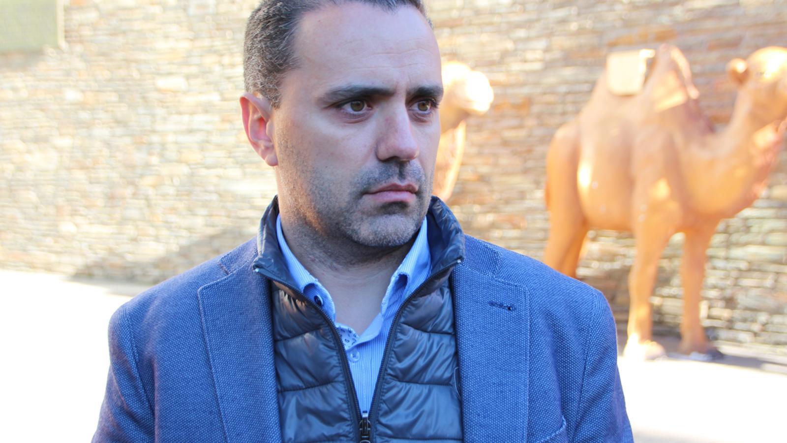 El número 3 de la llista de DA a Canillo, Marc Casal / M.T.