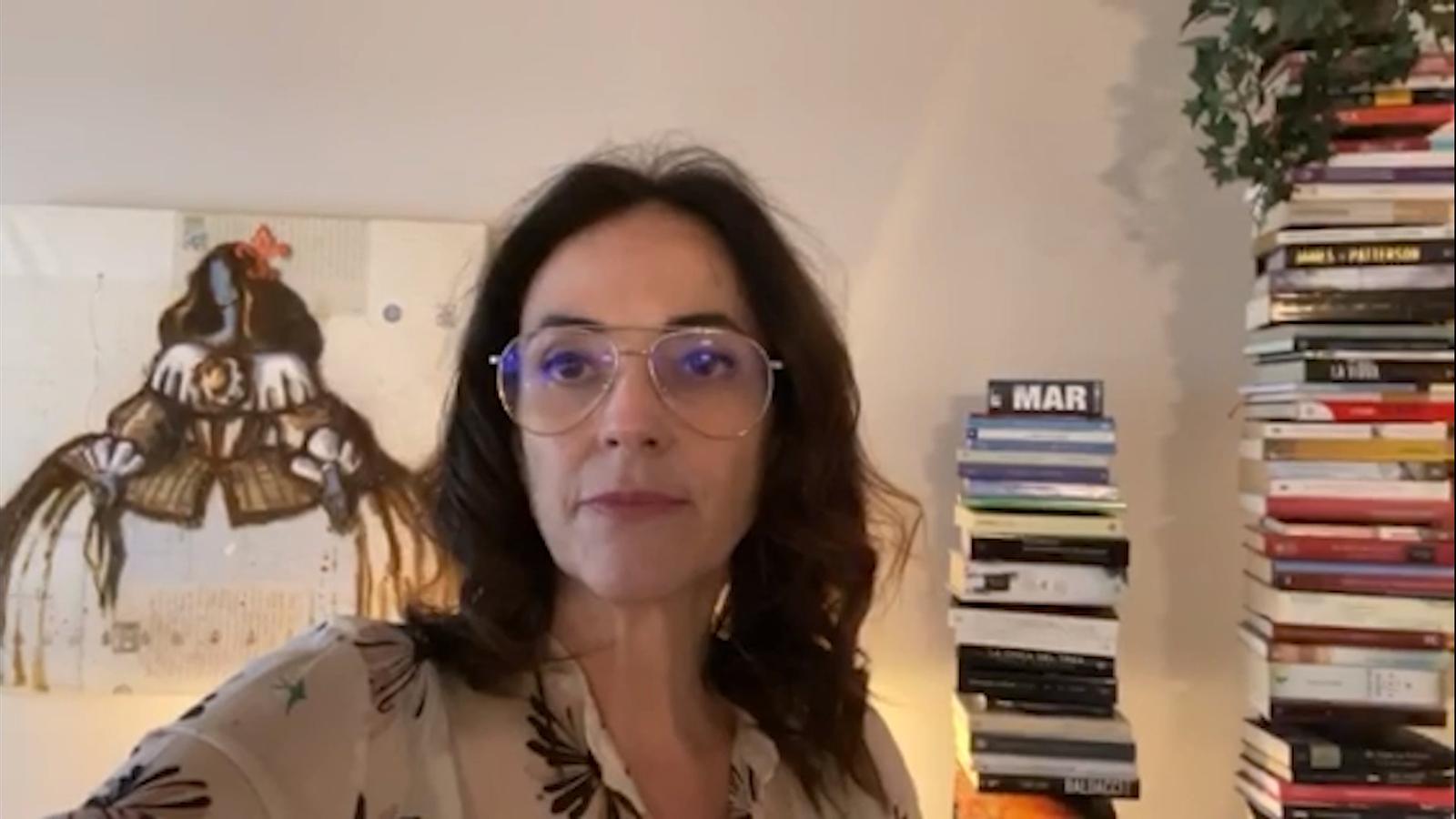 Declaracions de Sònia Yebra sobre l'obertura del comerç