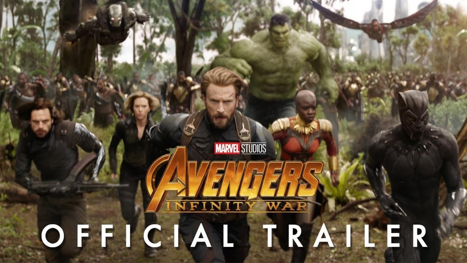 Tràiler de 'Los Vengadores: Guerras infinitas'