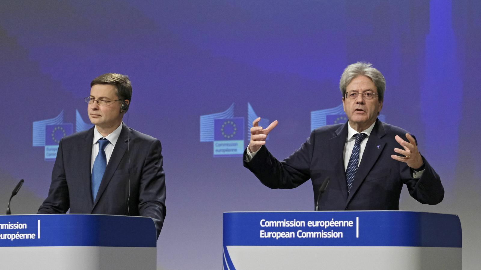 Valdis Dombrovskis i Paolo Gentiloni