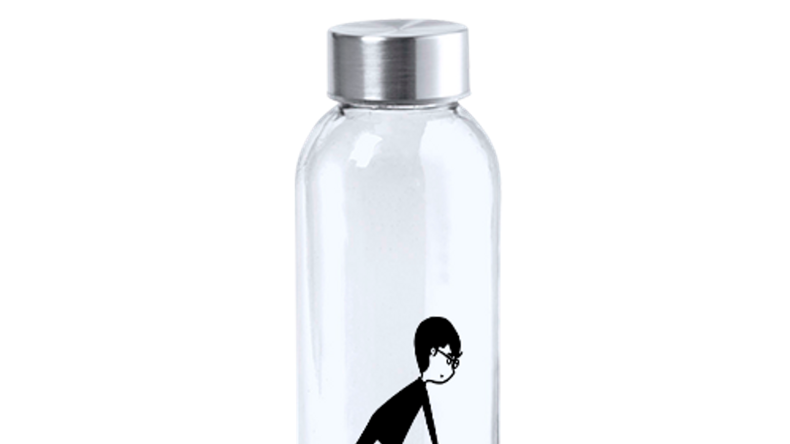 Una de les ampolles il·lustrades
