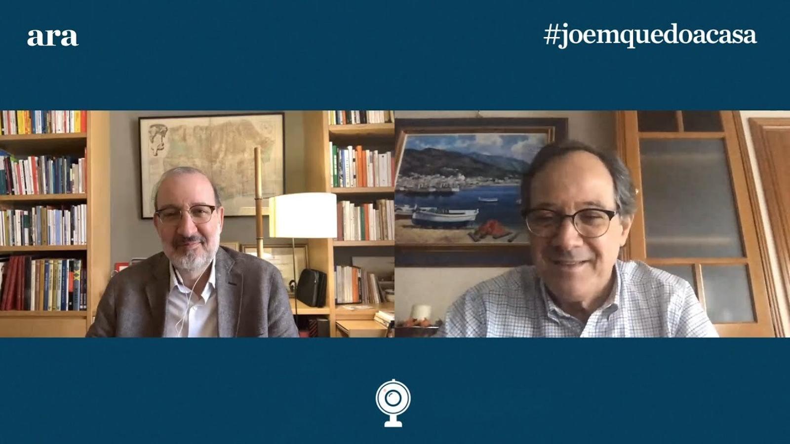 Entrevista d'Antoni Bassas al Dr. Jordi Vila Estapé
