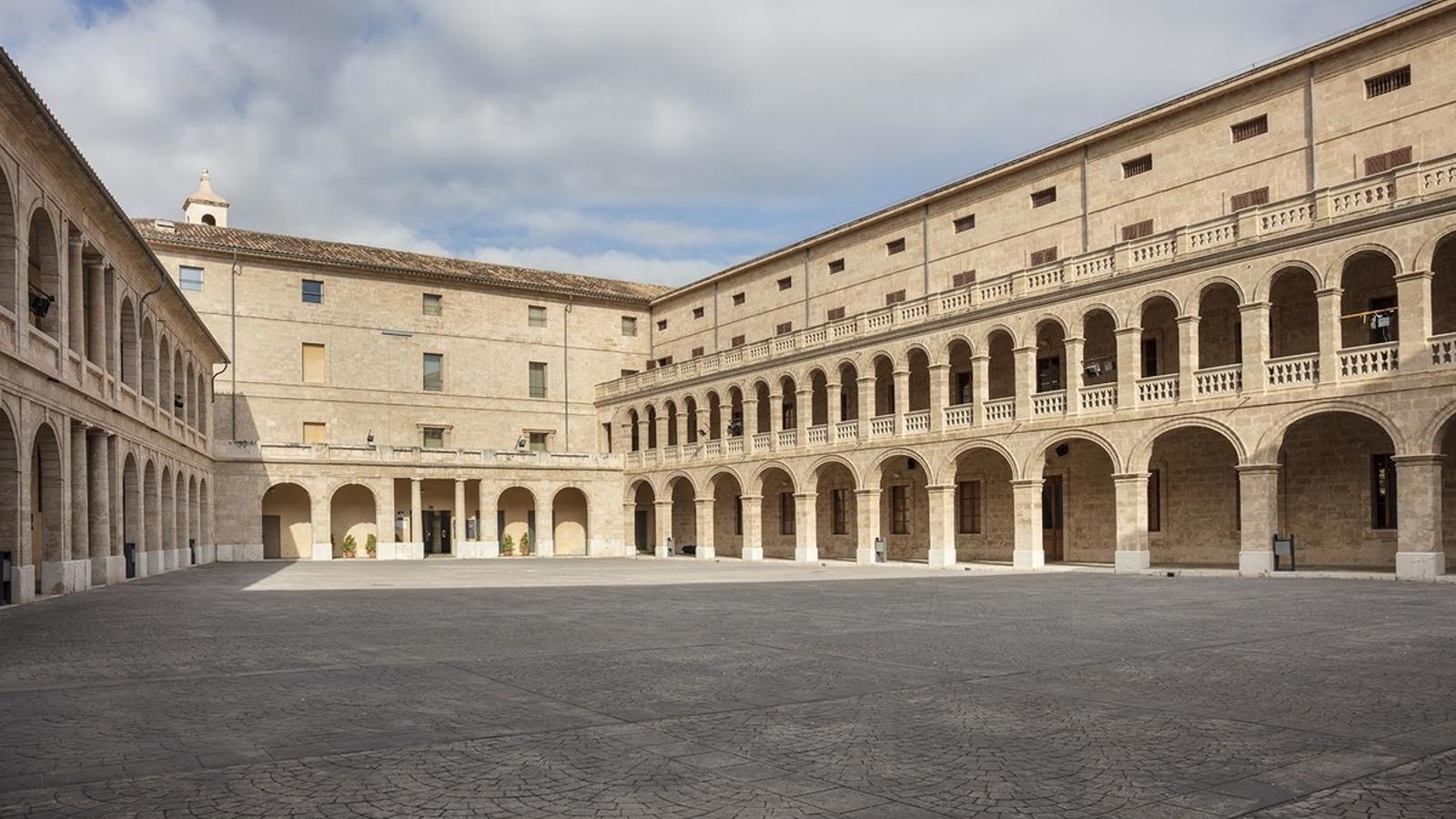 La Misericòrdia, seu del Departament de Cultura, Patrimoni i Política Lingüística