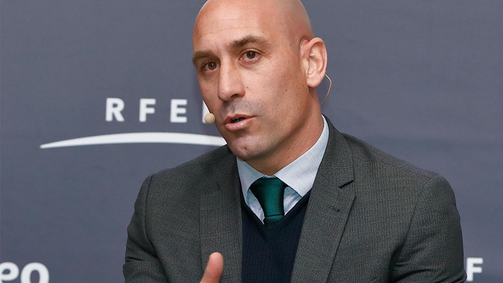 Luis Rubiales analitza la situació del futbol estatal