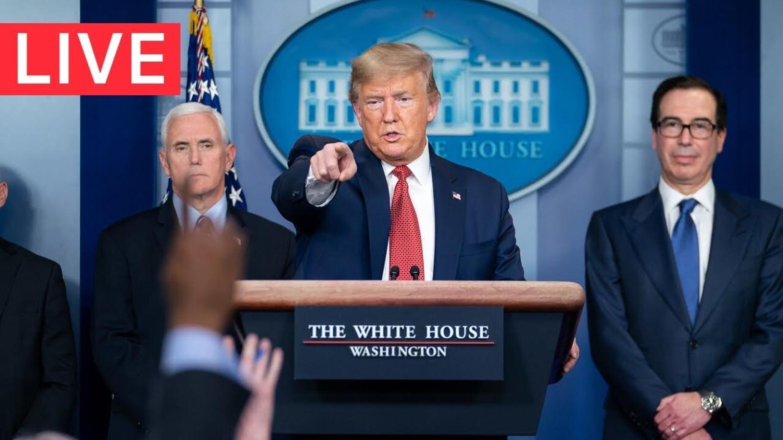 Conferència de premsa de Donald Trump