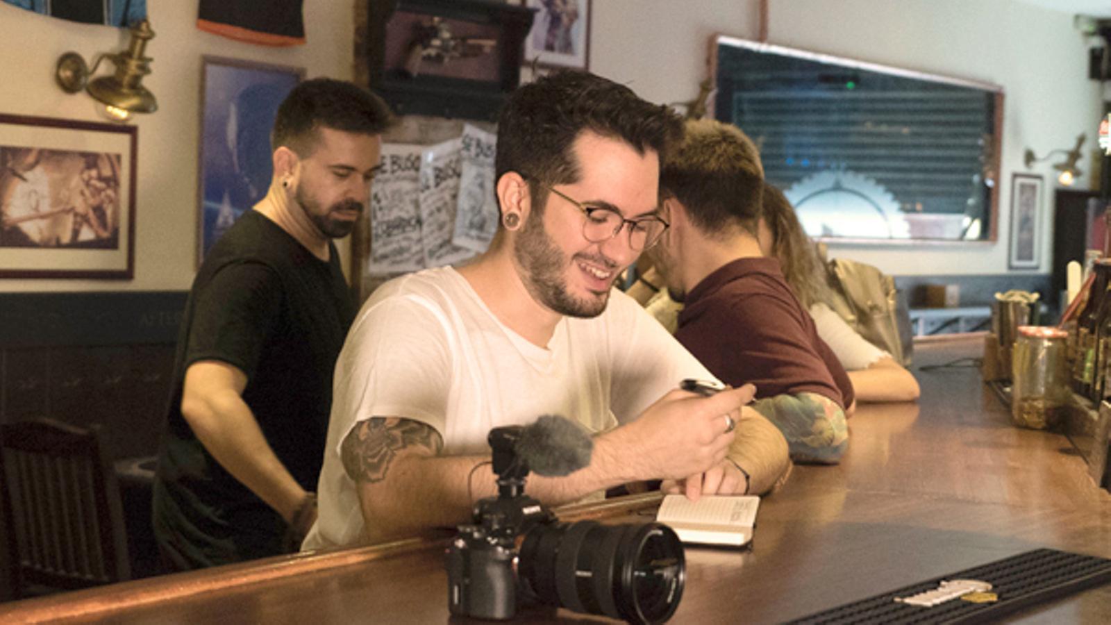 El 'youtuber' Wismichu encén el públic de Sitges en projectar un esquetx en bucle durant 65 minuts