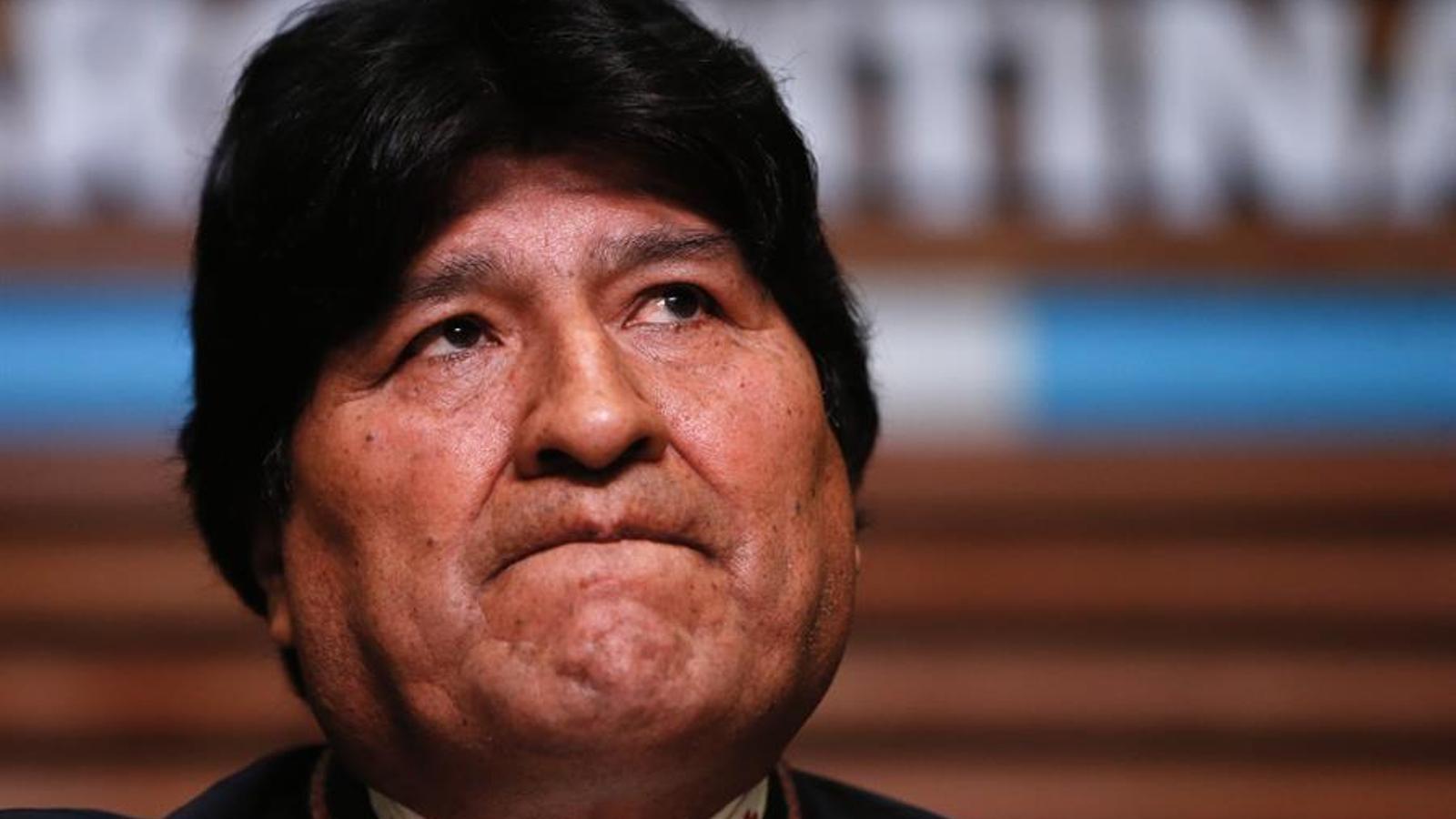 Evo Morales, en una compareixença a Buenos Aires del passat mes de febrer