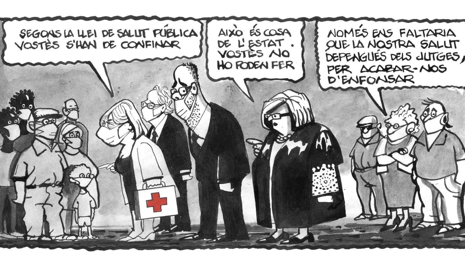 'A la contra', per Ferreres 14/07/2020