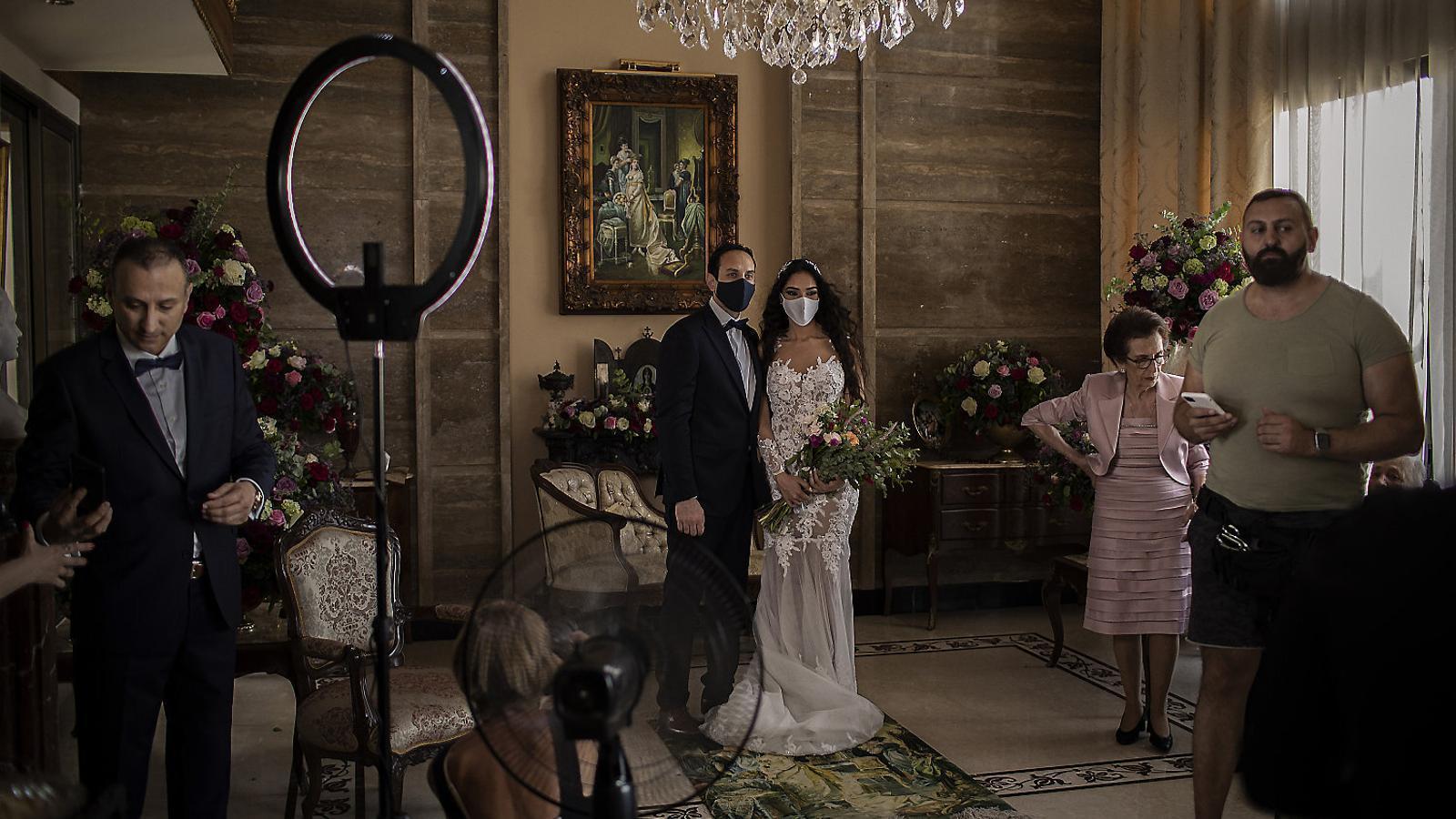 Casar-se en ple confinament al Líban