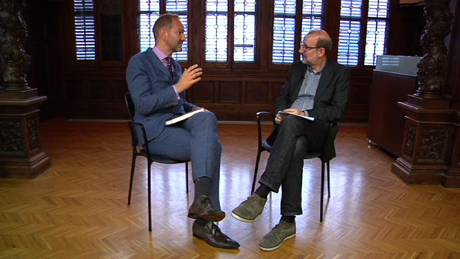 Entrevista d'Antoni Bassas a William Egginton