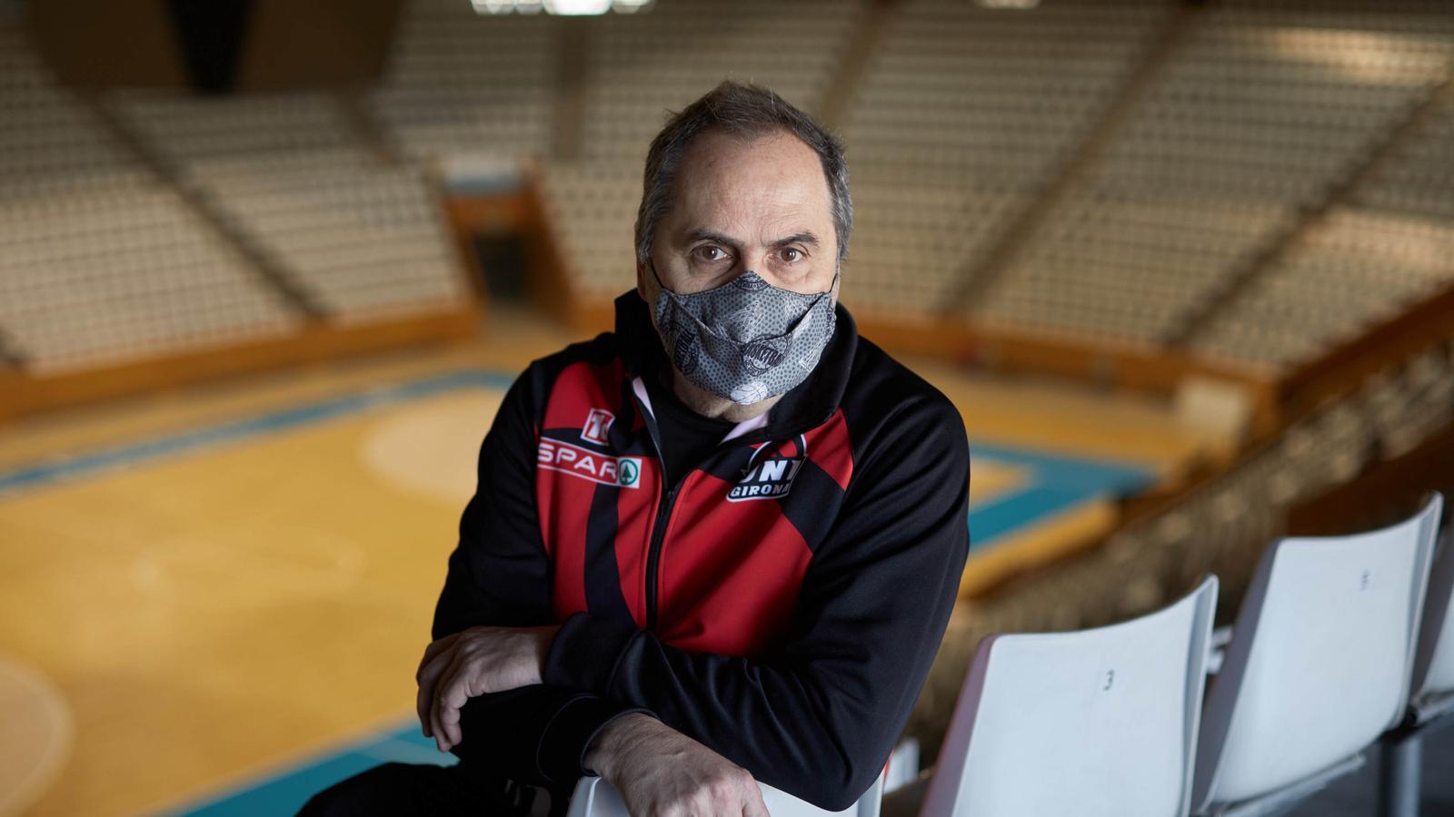 Alfred Julbe, entrenador del Girona