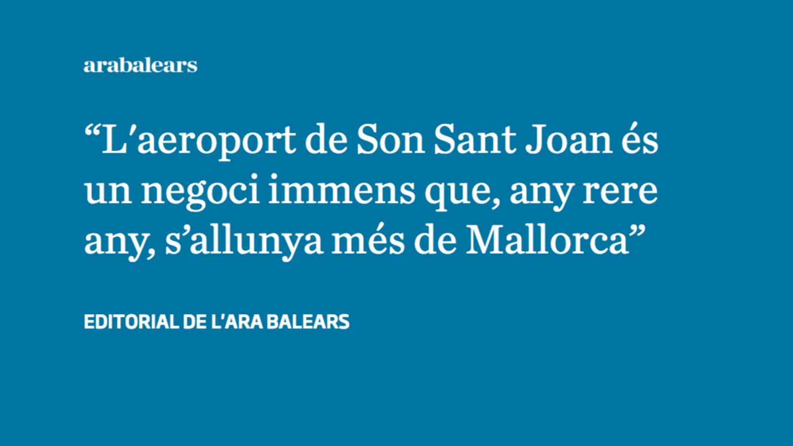 El gran negoci de Son Sant Joan: vendre una Mallorca estereotipada