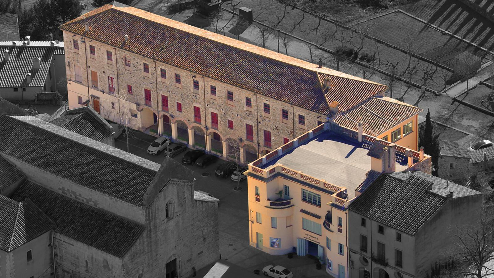 Una representació digital de com quedaria Circusland un cop reformats els edificis