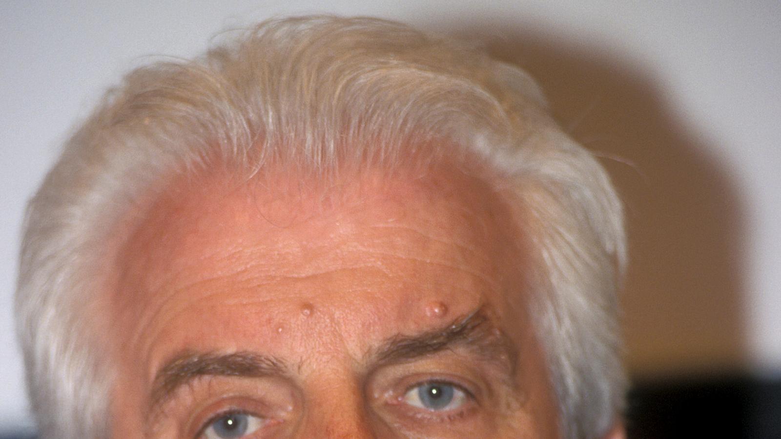 El fundador del grup Benetton, Gilberto Benetton, en una imatge d'arxiu.