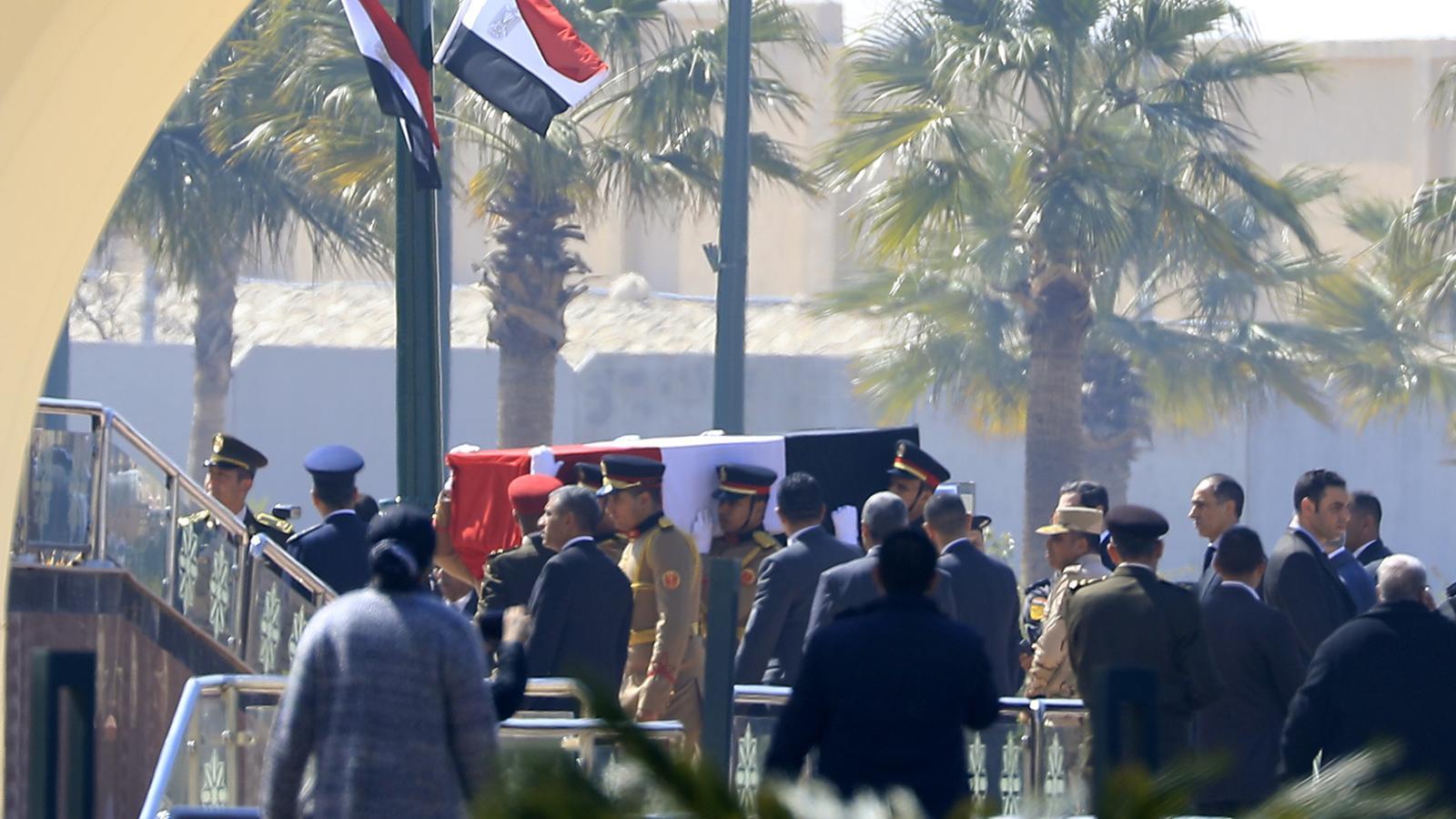 Funeral de l'exmandatari Hosni Mubàrak aquest dimecres a El Caire, Egipte