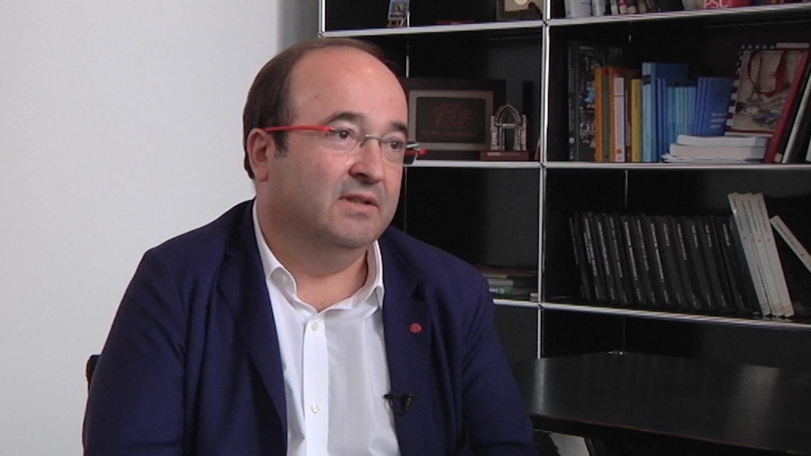 """Miquel Iceta: """"No podem posar data a la reforma constitucional"""""""