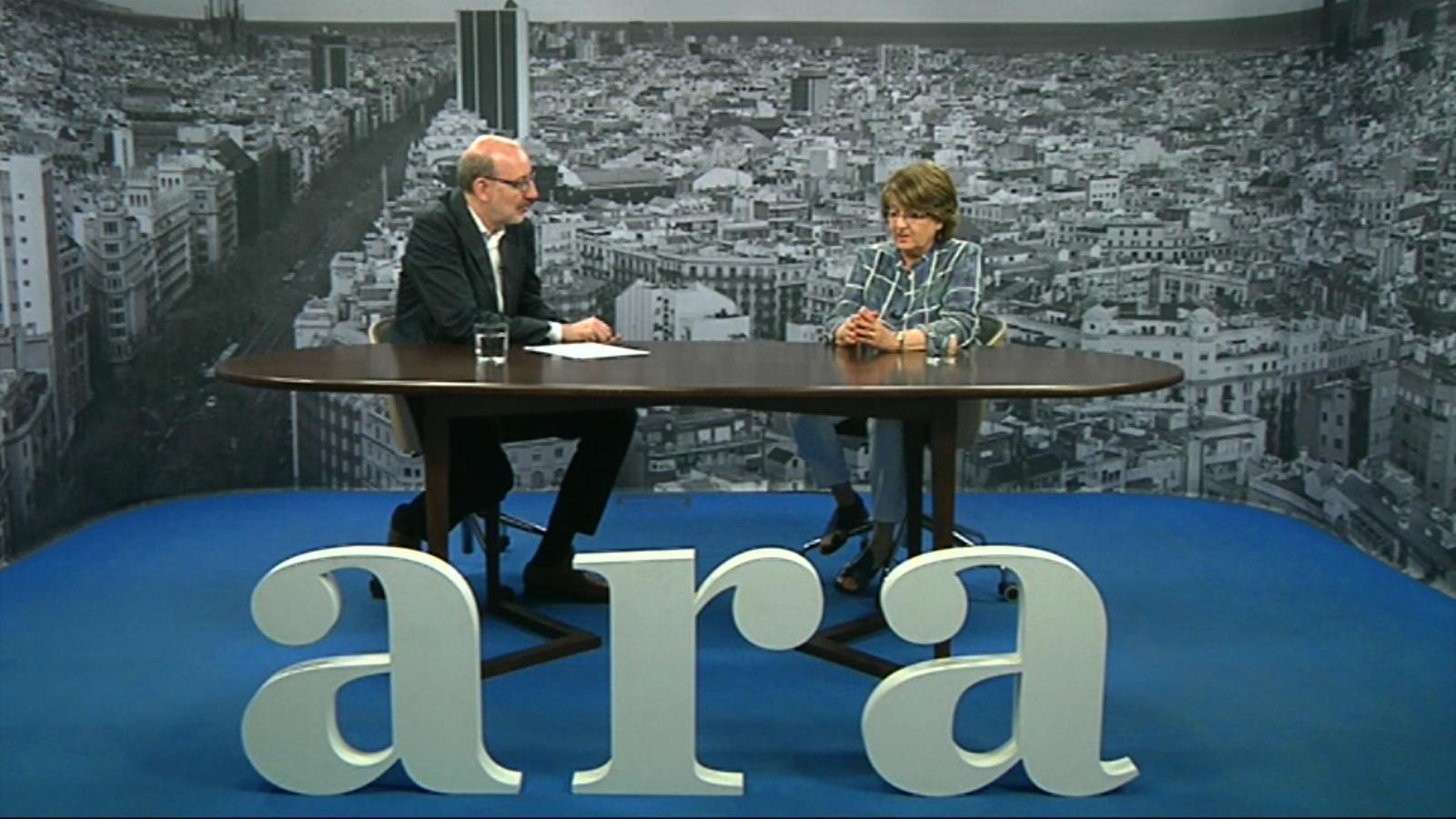 Entrevista d'Antoni Bassas a Marta Sanz-Solé