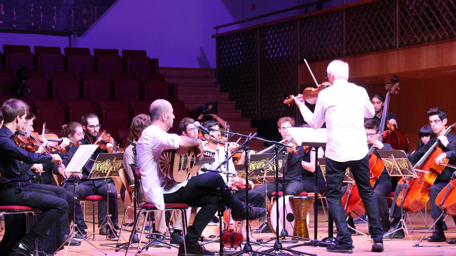 El tradicional concert de Meritxell. / M. P. (ANA)