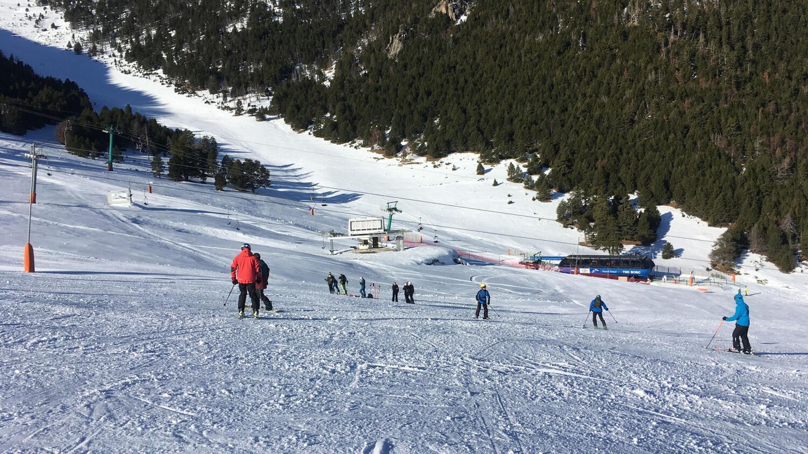 Esquiadors a Espot la temporada 2019-2020 / G.L.T.